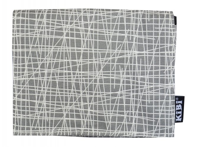 Pouch Grey Abstract