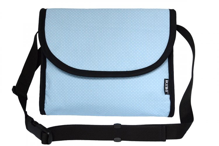 3in1 bag - Blue with dots